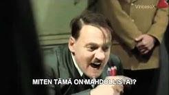 Hitler kuulee Suomi - Venäjä pelin tuloksesta