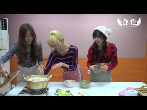 Angels' Cam #14 : AOA's Cooking
