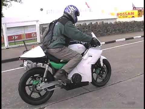 Native TTXGP-First electric motorcycle to complete IoM TT Course
