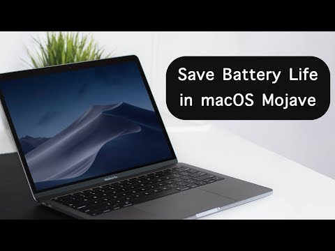 How to Improve macOS Mojave Battery Life for MacBook Pro and Air