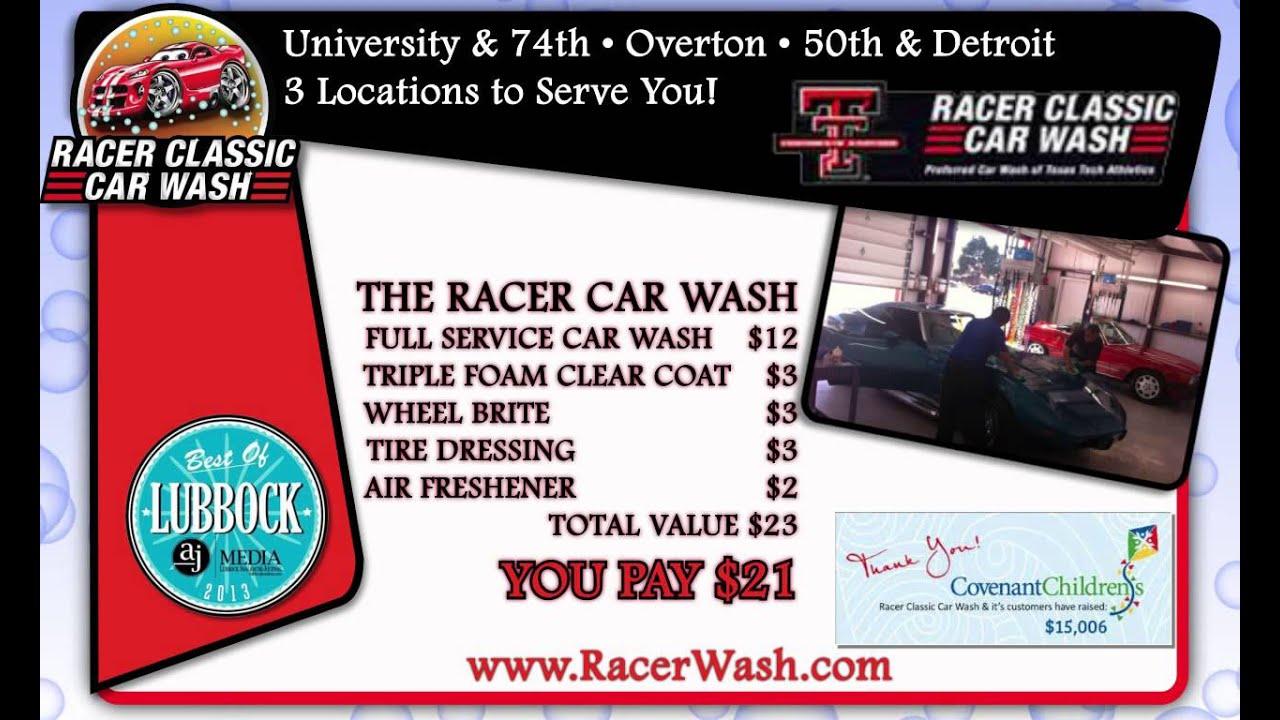 Racer classic car wash youtube racer classic car wash solutioingenieria Images