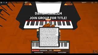 Roblox Virtual Piano: Guren no Yumiya - Attack on Titan (Medium)