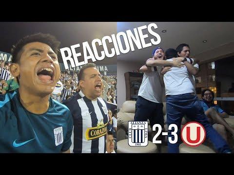 Reacciones: Alianza Lima 2 vs 3 Universitario de Deportes | Liga 1