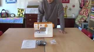 Maquina De Coser Alfa Compakt 100 Youtube