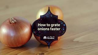 Everyday Simplified - H๐w To Grate Onions Faster