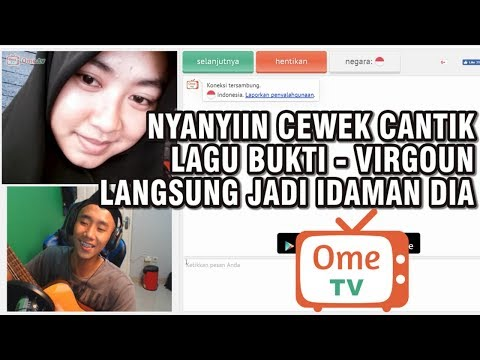 NYANYIIN LAGU BUKTI KE CEWEK CANTIK! FIX BAPER!! - OME.TV #2