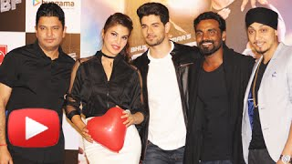Watch the song launch event of jacqueline fernandez and sooraj pancholi's gf bf held in mumbai. share on facebook: https://goo.gl/i5gzxx tweet now: https://g...