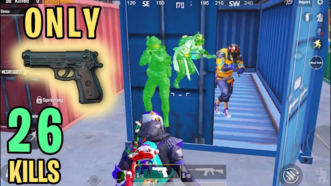 Pistol ONLY Challenge | PUBG Mobile