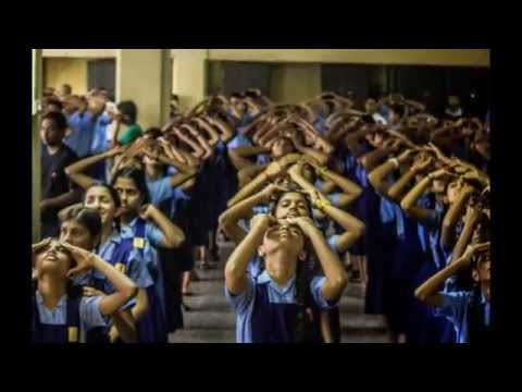 New Goa School - 18 June 2014 health awareness and garbage awareness