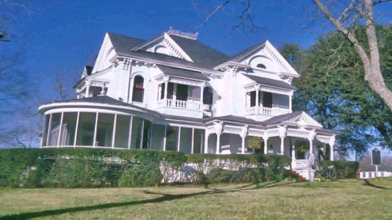 Queen Anne Victorian Style House Plans - YouTube