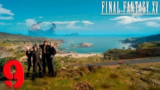 Final Fantasy XV. Прохождение. Часть 9 (На пути к станции чокобо Уиз )