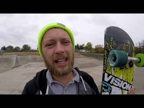 Longboard Wheels on a Skateboard!