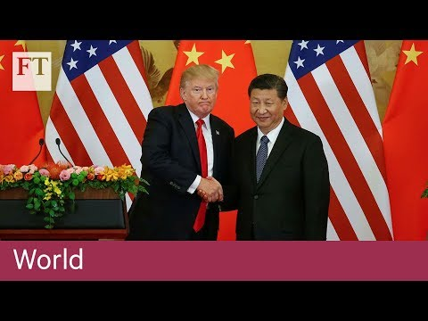 Trump urges China to fix trade ties