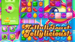Candy Crush Jelly Saga Level 1227 (Impossible level, no need waste the time, incomplete)