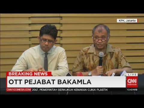 (Full) Breaking News Keterangan KPK - OTT Pejabat Bakamla