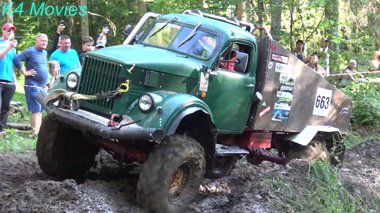 4x4 Off-Road Trucks | Mud Race | Rebuilt Trucks, Madona 2019