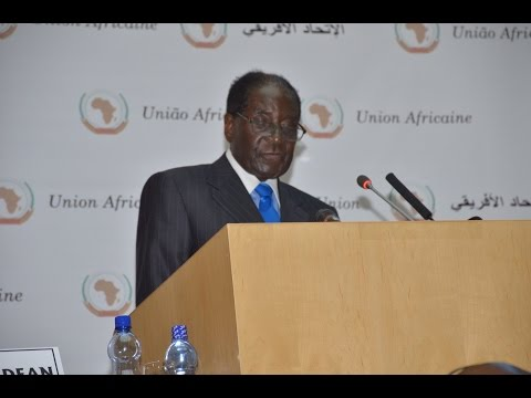 African Union: Acceptance speech of Pr. Mugabe (January 2015)