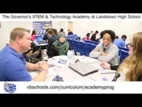 The Governor's STEM & Technology Academy at Landstown High School