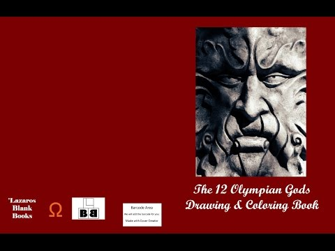 42 - Olympian Gods Drawing And Coloring Book