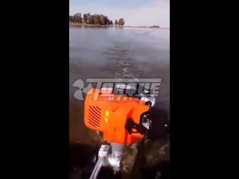 Motor Fuera de Borda Torque Marine 2.6 hp en Ecotraq 460 - Amato Outdoor