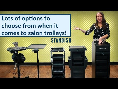 Salon Trolleys | Standish Salon Goods