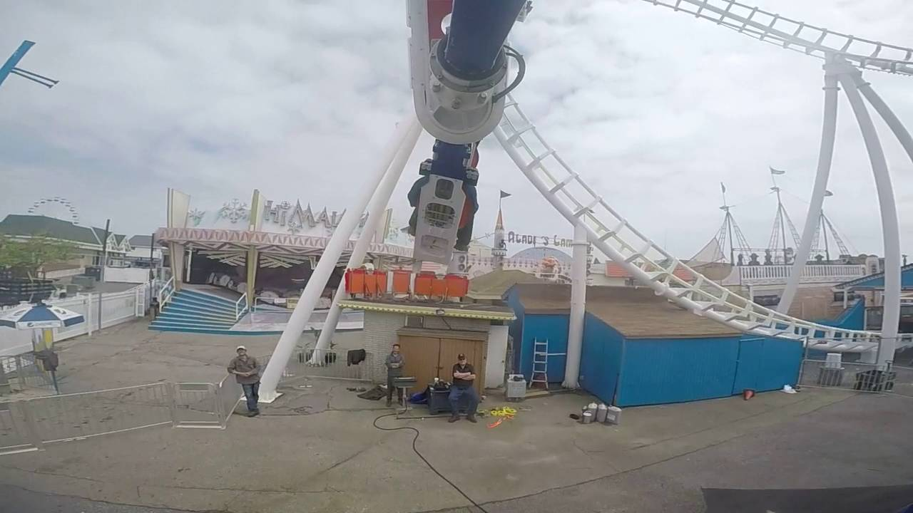 New Ride Trimpers Rides Ocean City Maryland Zamperla