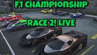 GTA 5 - F1 Championship Season 3: RACE 2 - PS4