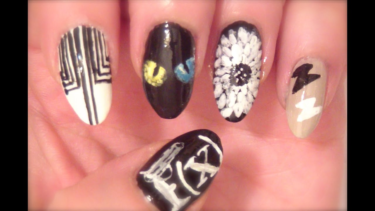 Fx red light kpop nail art youtube fx red light kpop nail art prinsesfo Images
