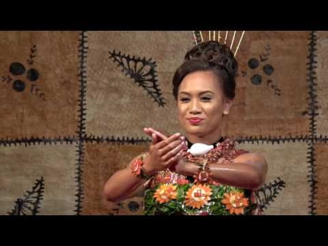 Miss Heilala Tau'olunga Winner - Miss Loumaile Lodge Laura Lauti