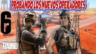 PROBANDO LOS NUEVOS OPERADORES | Rainbow Six Siege - OBXIX
