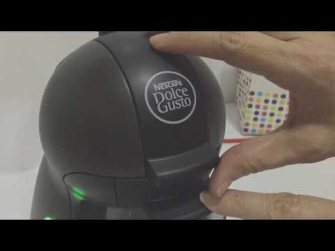 How To Operate Nescafe Dolce Gusto Piccolo Coffee Machine (Manual)