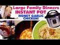 🍯HONEY GARLIC CHICKEN 🍗INSTANT POT RECIPE | Cook with Me ~ Large Family Mom Style!