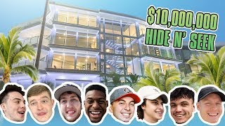 HIDE AND SEEK IN $10 MILLION MANSION w/ FaZe Clan
