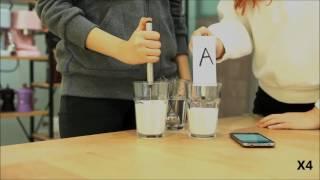 카페클럽 우유거품기 비교영상 (milk foamer t…