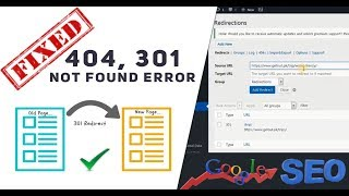How To Fix 404 Not Found Error Redirects In WordPress For Better SEO