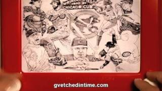 Chicago Cubs Etch A Sketch. The FALL Classic