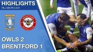 Sheffield Wednesday 2 Brentford 1 | Extended highlights | 2017/18