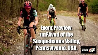 Preview: unPAved of the Susquehanna River Valley, Lewisburg, Pennsylvania, USA