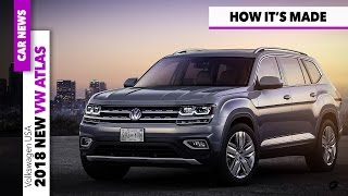 2018 volkswagen vw atlas - how born this midsize suv + exterior & interior design [gommeblog]