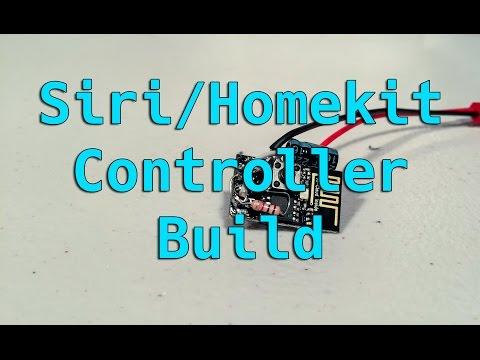ESP8266 Homekit/Siri Switch Build