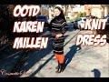 OOTD KAREN MILEN STRIPED DRESS CURVY FASHION | COSMETICSNOB