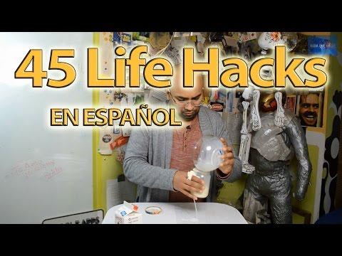45 Life Hacks en español - Recopilación | NQUEH