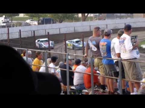 West Liberty Raceway tornado tues LM heat 3 8/6/13