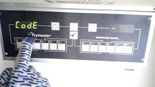 Frymaster программирование контроллера Magic