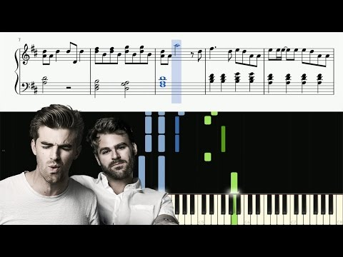 The Chainsmokers - The One - Piano Tutorial + SHEETS