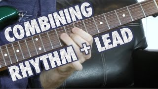 Learn how to add lead lines into your rhythm playing by taking simp...