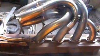 ステンレスマフラー手曲げ集合管 美しい一品その1 その239.
