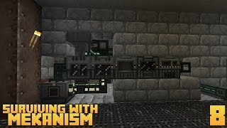 Surviving With Mekanism v9 :: Ep.8 - 4x Ore Processing Setup