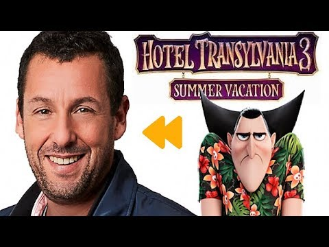Hotel Transylvania 3 A Summer Vacation Voice Actors And Characters Quickie Youtube