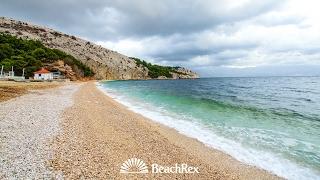 beach Bunćuluka, Baška, island Krk, Croatia